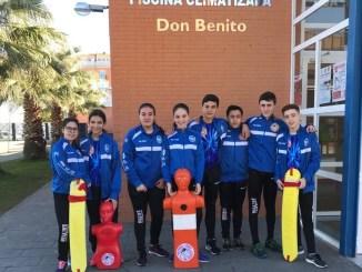 El Club Salvamento Tiendas Pavo Don Benito acudirá al Campeonato de España Infantil y Cadete de Invierno