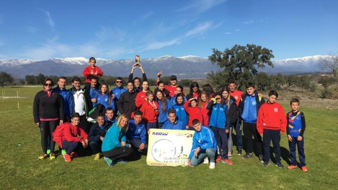 Grandes resultados del Club Atletismo Don Benito en el Campeonato de Extremadura de Campo a Través