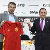 La Federación Extremeña de Fútbol y la Fundación Ícaro dan un nuevo impulso a su proyecto solidario de ayuda a la oncología infantil (1)