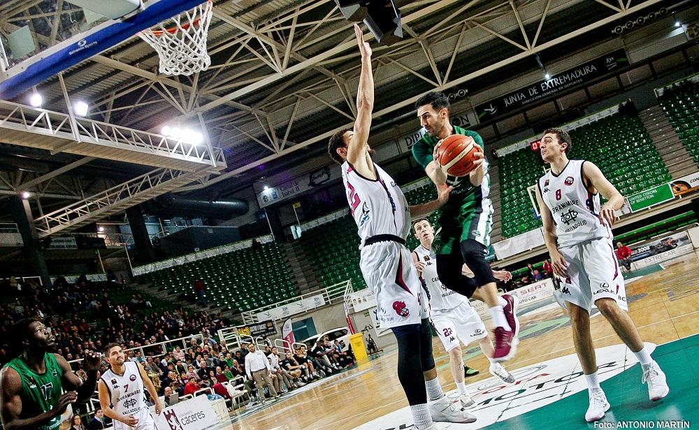 Cáceres Ciudad del Baloncesto - Baloncesto Valladolid  Antonio Martín