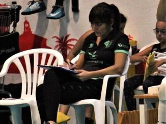 """Carmen Fernández: """"El equipo depende de sí mismo para ir a la fase de ascenso"""""""
