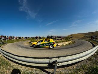 Quijada y Cuni Fernández segundos en el Rallye Sierra Morena