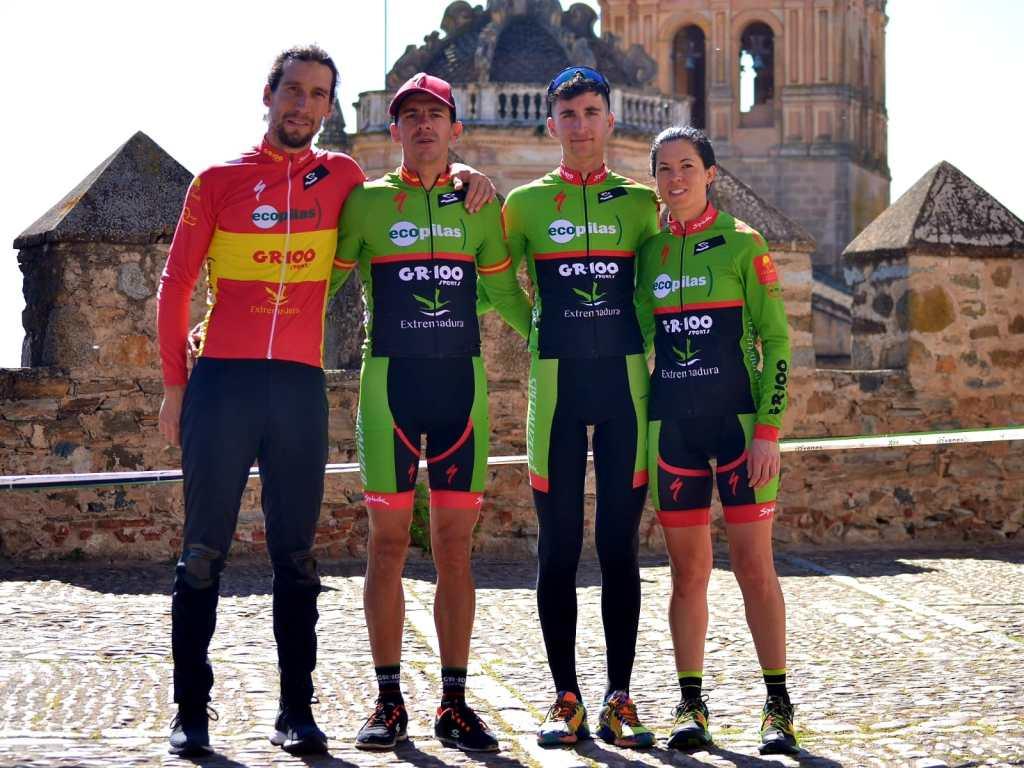 El equipo ciclista Extremadura-Ecopilas MTB viaja a Cambrils