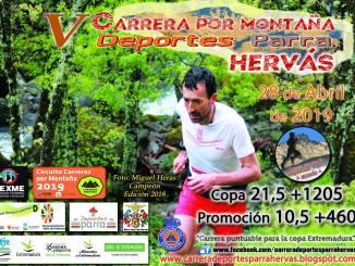 V Carrera por Montaña Deportes Parra Hervás el próximo 28 de Abril 2019
