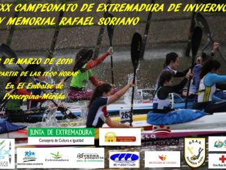 XXX Campeonato de Extremadura de Invierno en el Embalse de Proserpina
