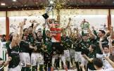 Triunfo del conjunto templario ante el UEX Cáceres (4-6) en la gran final de la Copa de Extremadura de Fútbol Sala celebrada en Jerez de los Caballeros.