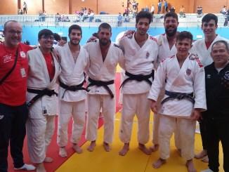 El Club de Judo Pacense Javier Linde se mete en los PlayOff de 1ª División Nacional