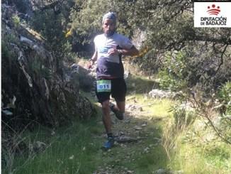 La pacense Pilar Ballesteros y el segedano Raúl Rodríguez, líderes del nuevo Trofeo Diputación de Badajoz de Carreras por Montaña