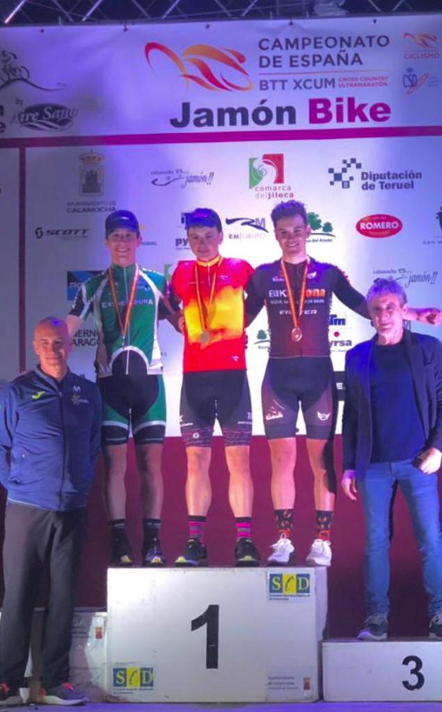 Extremadura-Ecopilas regresa de Calamocha con dos platas del nacional de Ultramaratón BTT