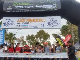 Los componentes del programa de tecnificación de Carreras Por Montaña de la FEXME comenzaron la competición