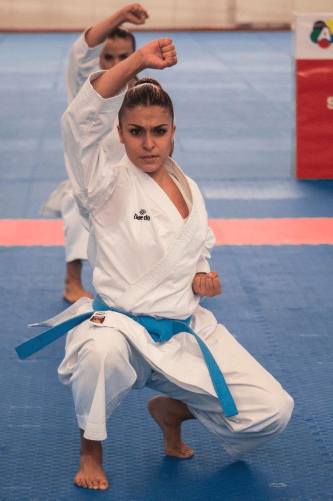 La extremeña Marta García busca medalla en Torrelavega