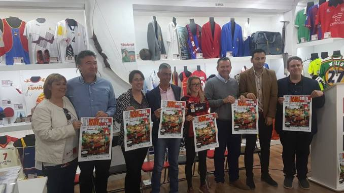 Presentación de la XIV Media Maratón de Alburquerque