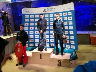 Alberto Ginés consigue el oro en la segunda prueba de la Copa de Europa Juvenil en Graz (Austria)