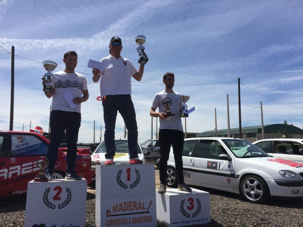 Caballero vencedor del Slalom de Talavera la Real