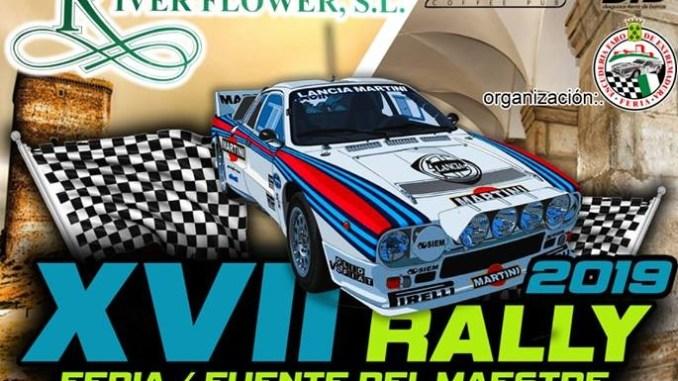 Hoy comienza el XVII Rally Villa de Feria-Fuente del Maestre