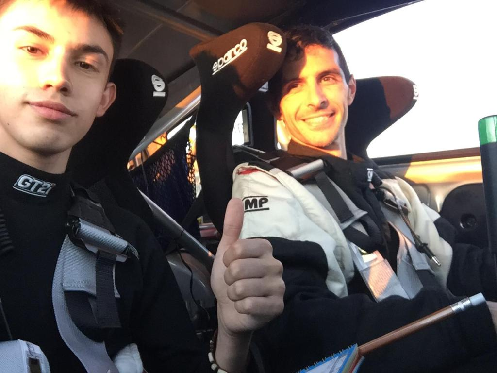 Grande y Sánchez representarán al ERT en el Rally Feria-Fuente del Maestre
