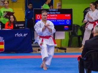 Marta García busca reforzar su buen momento de forma en Alicante