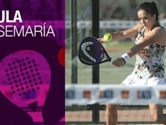 Paula Josemaría, la extremeña que quiere colarse entre las 8 mejores del pádel mundial