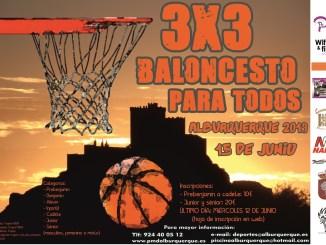Torneo 3x3 Baloncesto Para Todos de Alburquerque