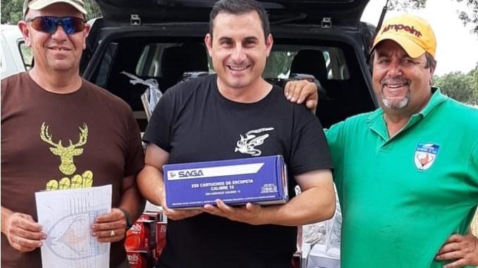 El tirador Germán Casillas gana el Campeonato de Extremadura de Recorridos de Caza