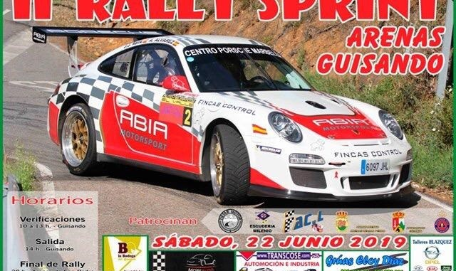 Representación extremeña en el Rallysprint Guisando -Arenas de San Pedro