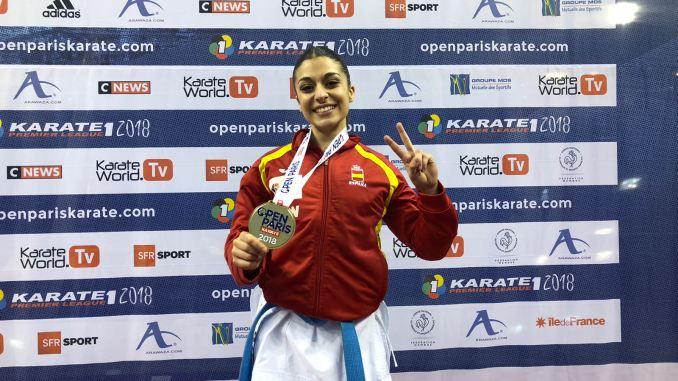 Marta García Lozano se concentra con la Selección Española Sub 21 de Karate