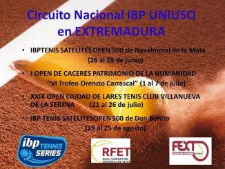 Presentación de los Torneos del Circuito Nacional IBP Uniuso