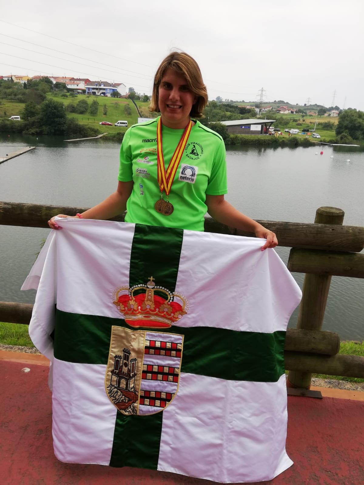 Pareja de oros para Elena Ayuso en el Campeonato de España de Avilés