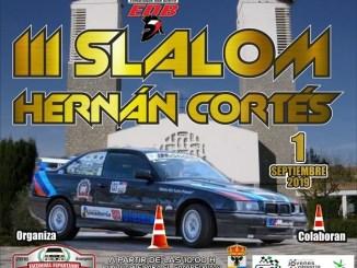 La localidad pacense de Hernán Cortes celebra su tercer Slalom