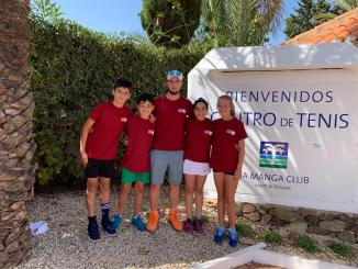 Resumen de la participación extremeña en el Campeonato de España Alevin de tenis