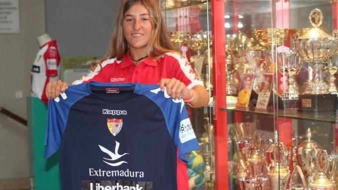 La portera internacional portuguesa Sub19 Vitória Antunes llega al filial del Santa Teresa