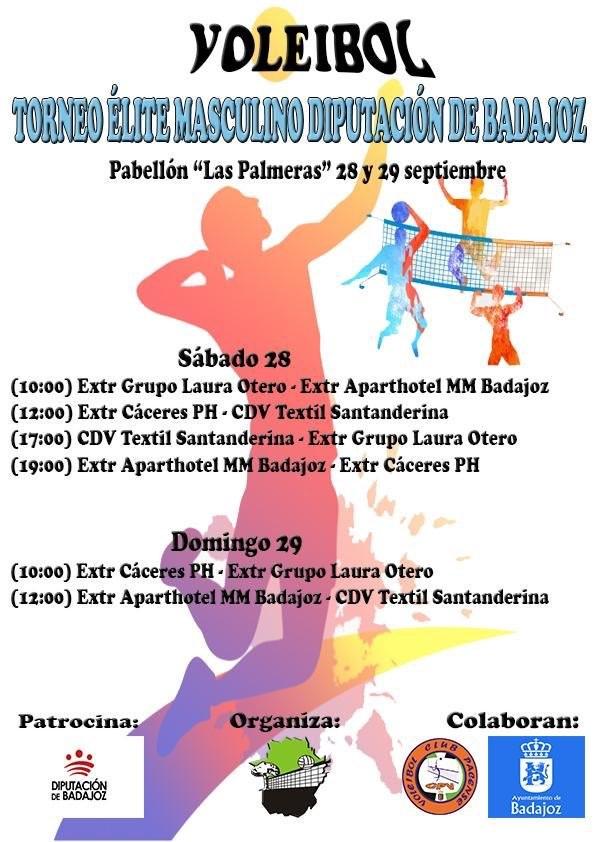Trofeo Diputación de Badajoz en el Pabellón Las Palmeras