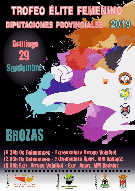 Torneo Elite Voley Femenino Diptuación Cáceres