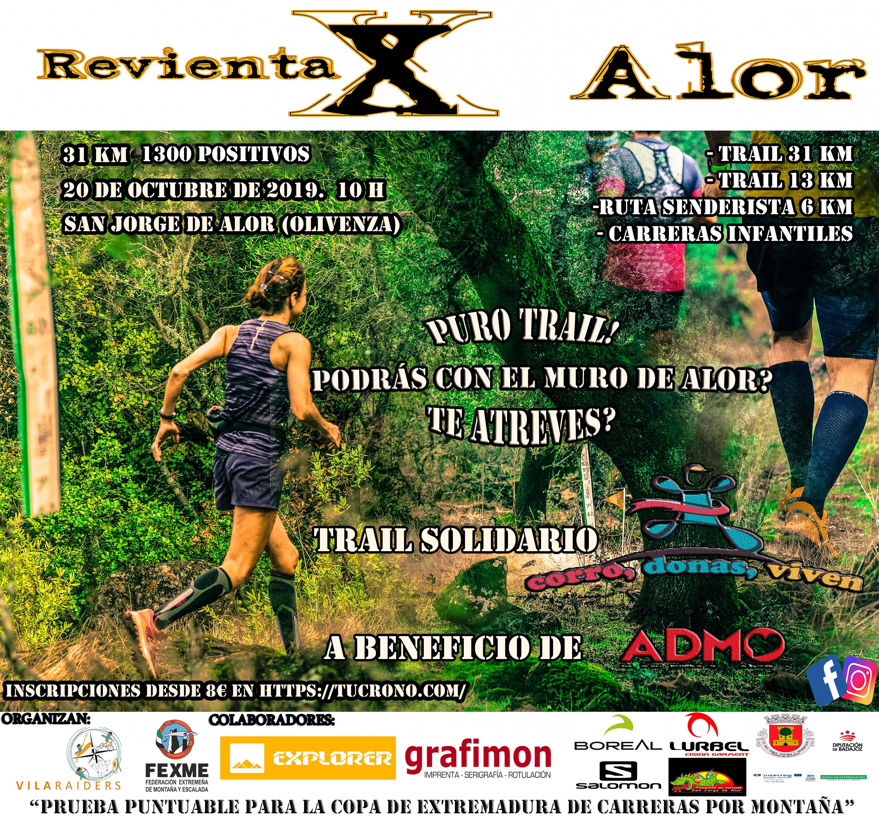 Trail Solidario Revienta X Alor 2019