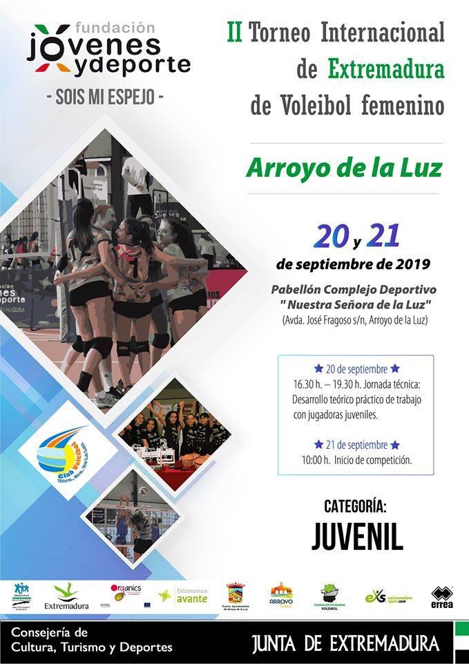 presentación II Torneo Internacional de Extremadura de Voleibol Juvenil