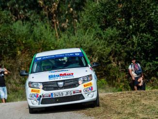 El ERT a ponerle el broche a la Copa Dacia Sandero en el Rallye de Granada