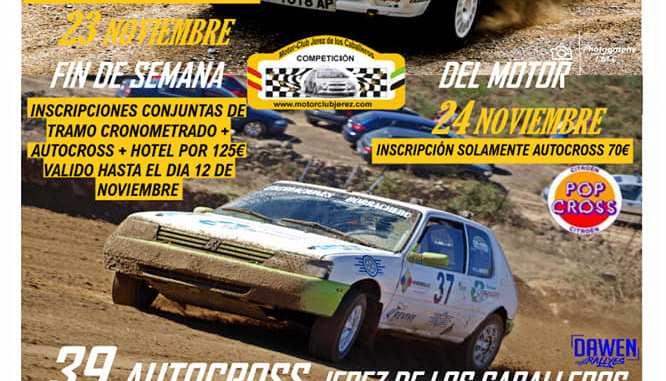 Jerez de los Caballeros dictará sentencia en el regional de Autocross