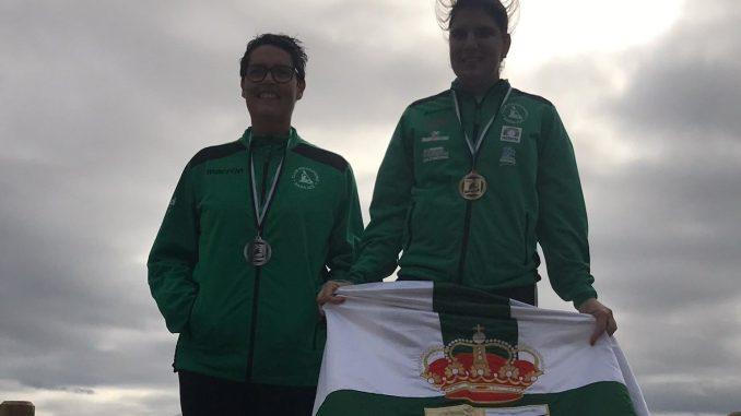 Elena Ayuso, primera clasificada en el Duatlón de Mérida