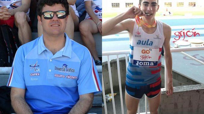 José Ángel Entrenador de Alto Rendimiento en Extremadura y Manuel Ridruejo Deportista de Alto Rendimiento