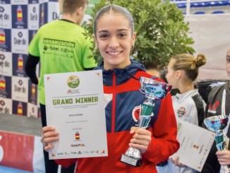 Paola García Lozano compite en la Youth League de Venecia