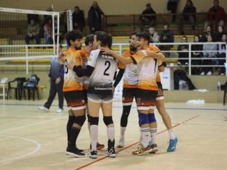El Extremadura Club Pacense Voleibol estrena 2020 a lo grande (3-0)