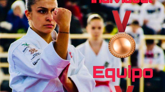 Marta García, doble medalla de bronce en el nacional de Leganés