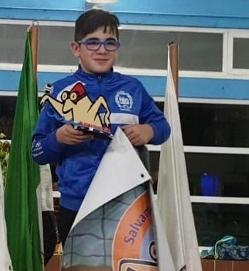 Diego Otero Herrero estará en el Cto. de España Infantil y Cadete de Invierno de Valladolid