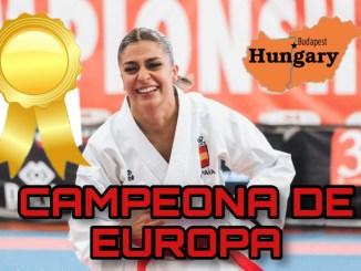 Marta García, campeona de Europa