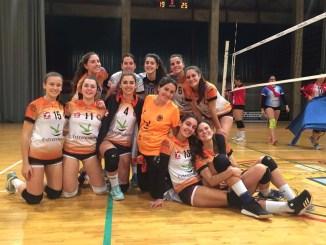 Victoria de las mandarinas y derrota de los chicos del Extremadura Club Pacense Voleibol