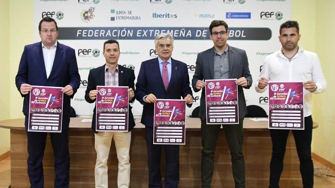 La FEXF colabora con las III Jornadas de Fútbol del IES Zurbarán