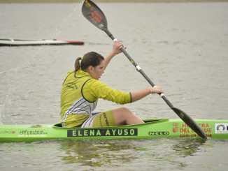 Elena Ayuso busca la victoria en el campeonato regional de invierno en Alange