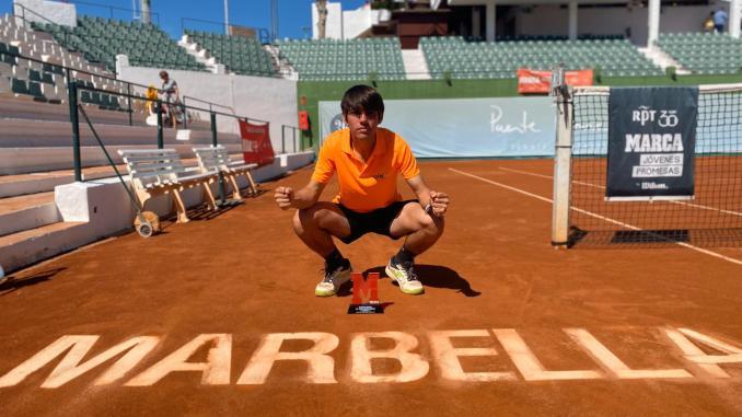 Victoria de Fernando Bulnes en el torneo de Marbella del Circuito Marca Jóvenes Promesas