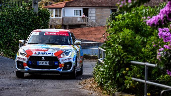 Debut agridulce de Víctor Colorado y Osel en el Rallye de Ourense