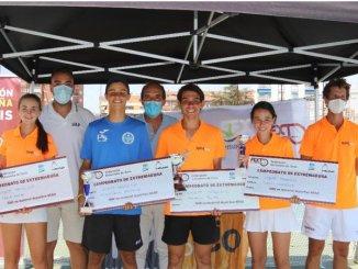 Éxito de participación en el Campeonato de Extremadura Cadete celebrado en SportOcio
